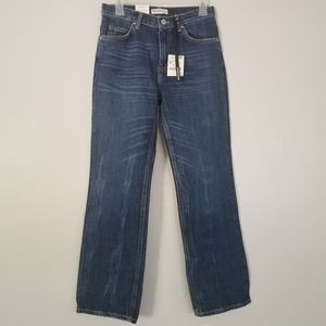 Zara The Straight High Rise Jeans Size 2